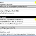 Analyseverktøy for kost/nytte vurdering før lansering (språk: norsk)