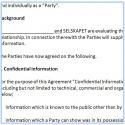Tosidig konfidensialitetsavtale (språk: engelsk)