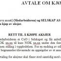 Avtale om kjøp av aksjer (språk: norsk)