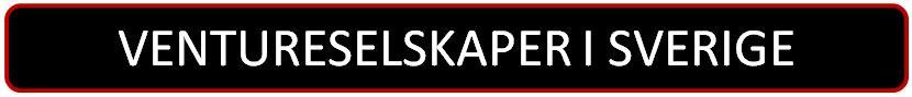 Liste over ventureselskaper i Sverige